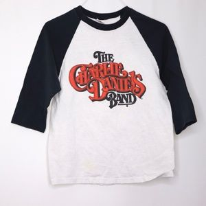 Other - The Charlie Daniels Band Size Small Baseball Tee
